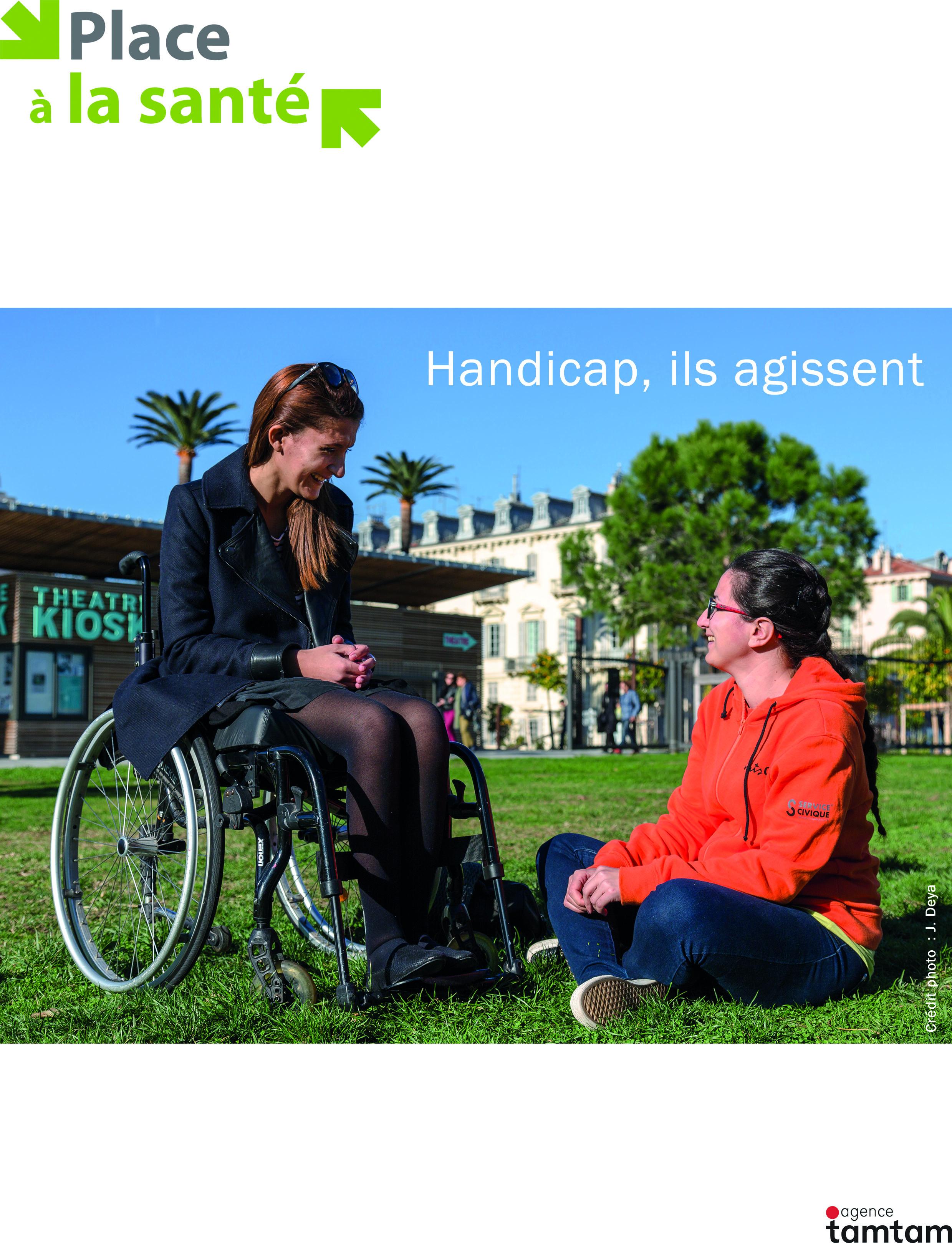 Handicap, ils agissent