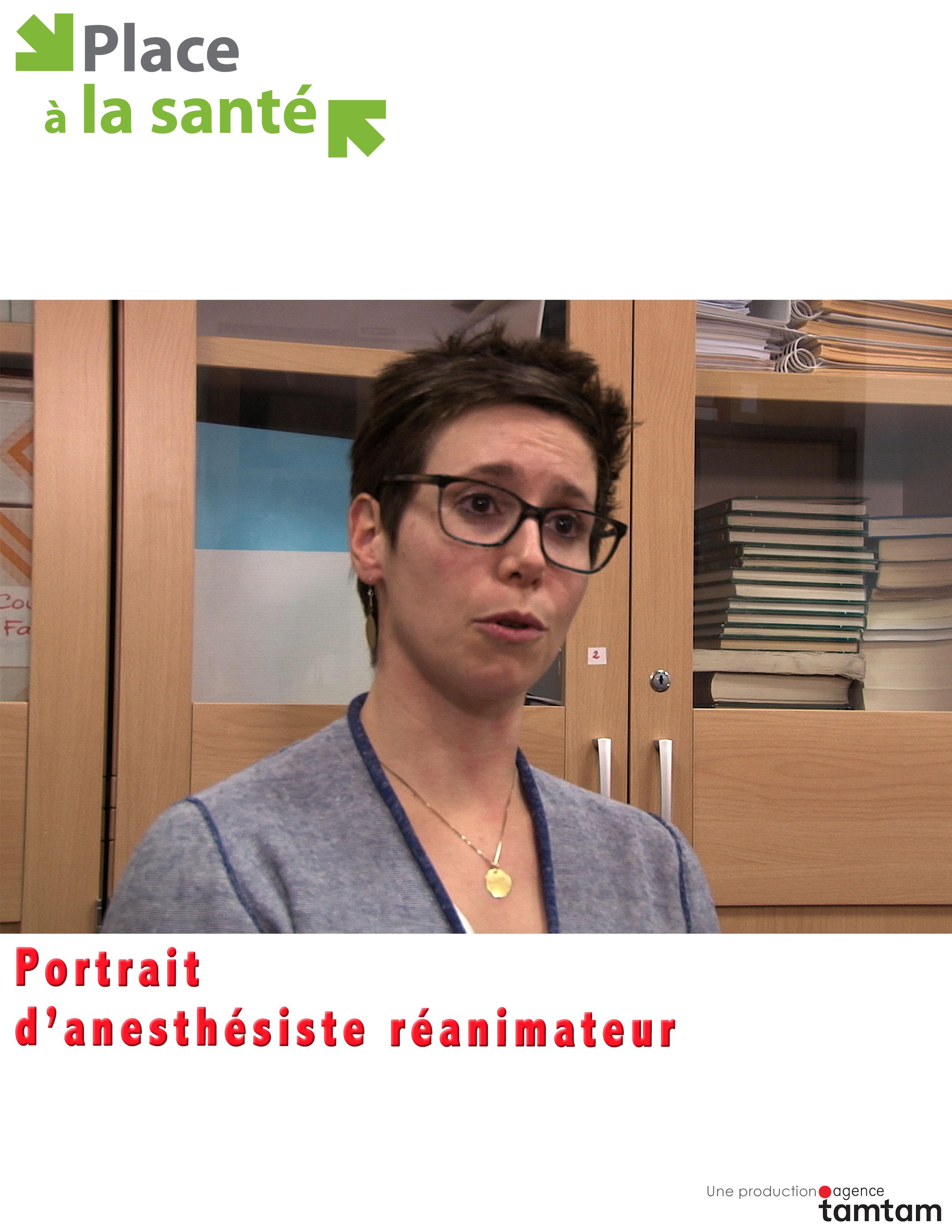 Portrait d'une femme anesthésiste-réanimateur