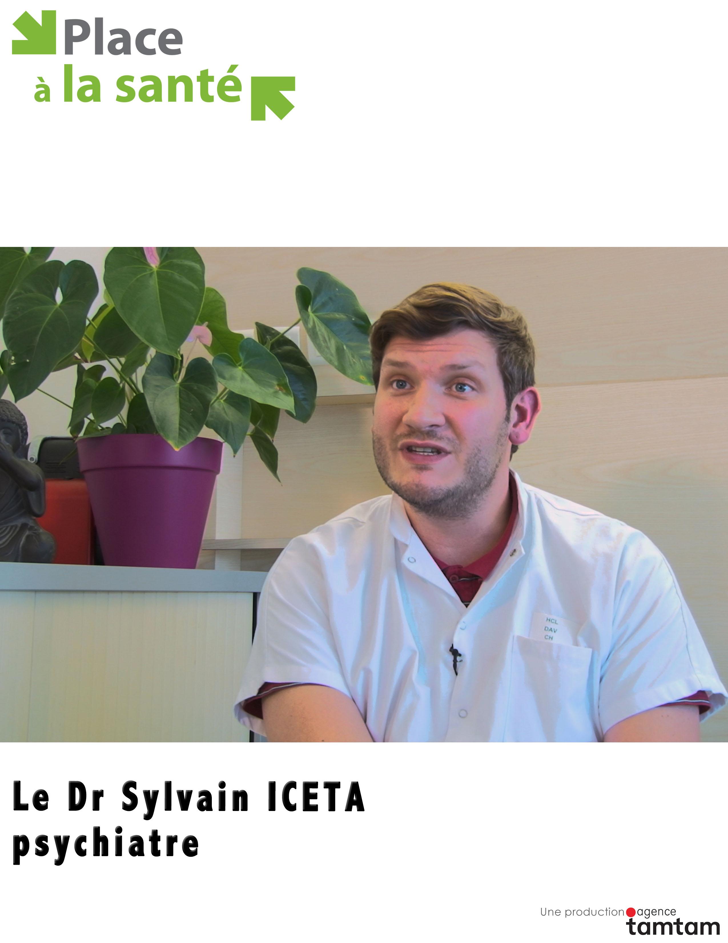 Le Dr Sylvain Iceta, psychiatre